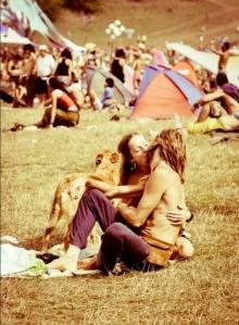 Você também pode virar hippie #pazeamor